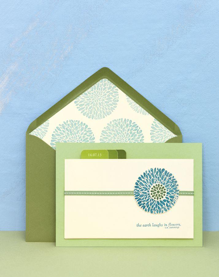 Hier finden Sie tausend Inspirationen für Ihre Hochzeitspapeterie: Save-the-Date, Einladungskarten, Kirchenhefte, Danksagungen, Who-is-Who