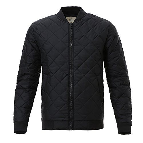 Majeclo Men's Premium Quilted Lightweight Bomber Jacket (... http://a.co/7nDhnas