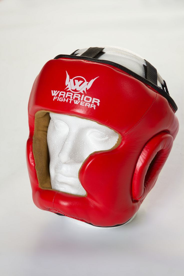 The Warrior Fight Wear head guard is made from quality genuine leather,and has a soft interior shell keeping the head cool during training. #headgear #boxing #warriorfightwear #headguard #lightweight #leather