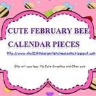 This is a cute February calendar piece set in an ABC pattern.  Also included are extra calendar pieces for special days this month. ...