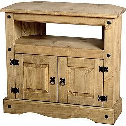 Home Essence Corona Wooden Corner TV Cabinet for CRT's