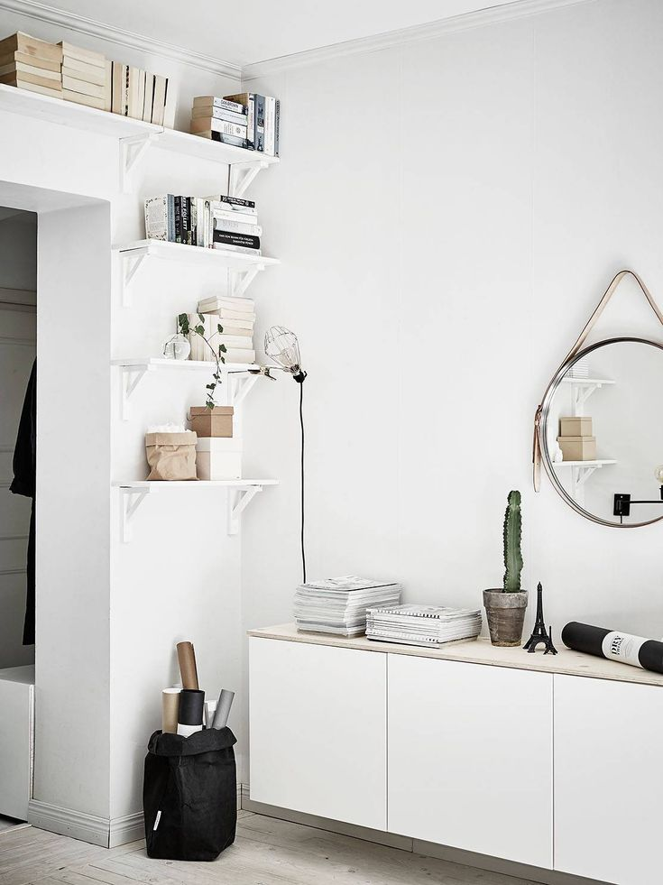 4 Stylish Doorway Bookshelfs More