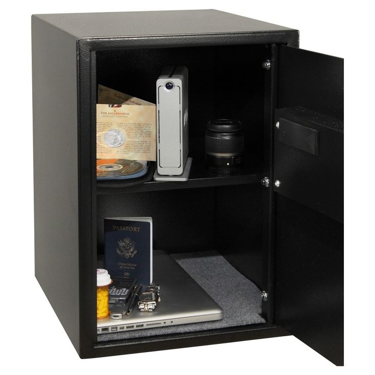 Honeywell 2.87 cu ft/Large Digital Security Safe with Money Slot, Black