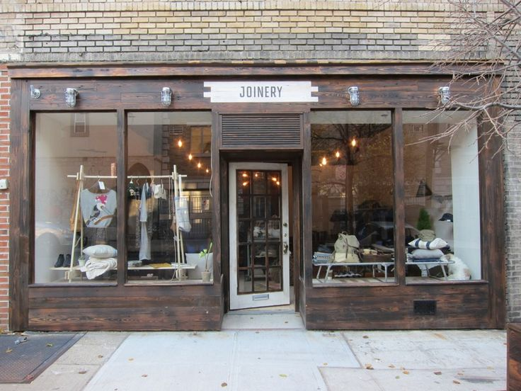 joinery storefront | brooklyn, ny