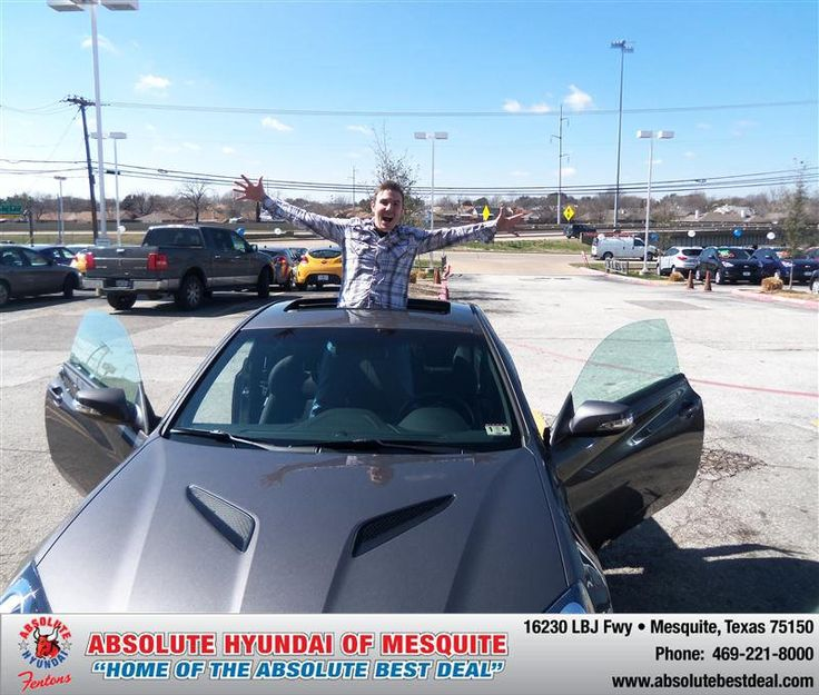 #HappyAnniversary to Colin Mitchell on your 2013 #Hyundai #Genesis from Troy Cox  at Absolute Hyundai!