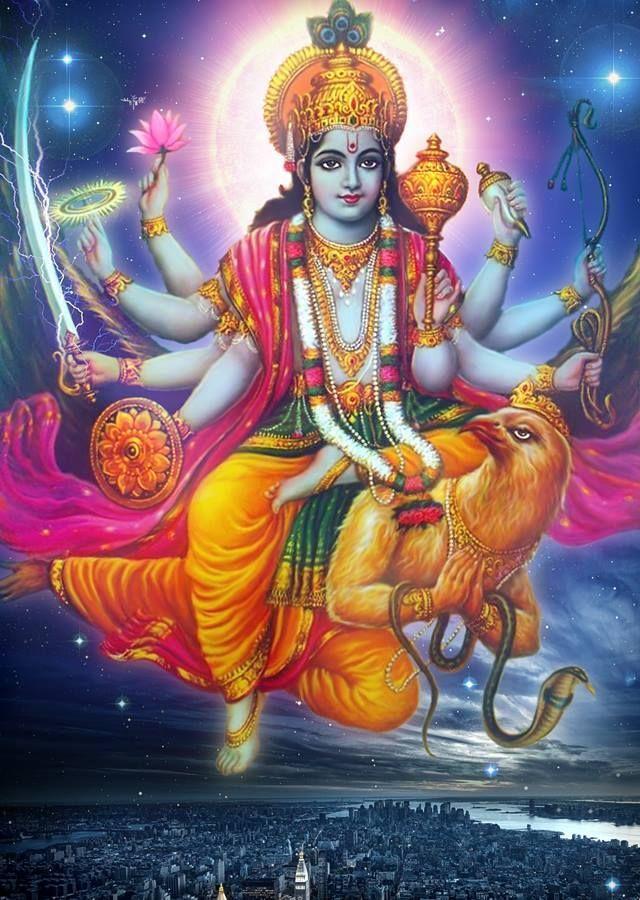 Vishnou, le protecteur de l'humanité                                                                                                                                                                                 Plus