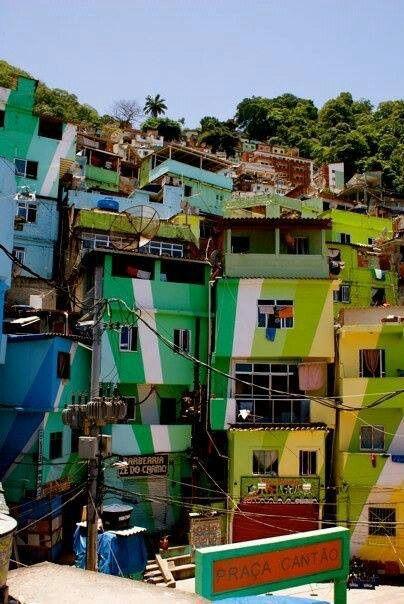 Santa Marta Favela Rio de Janeiro