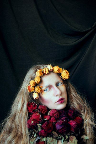 """Flower girl"", 2016 ph: Tsoy Olga"