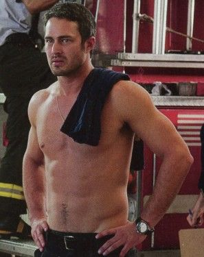 Taylor Kinney is exactly who I pictured when I wrote the character of Tom Donalan, the hero of the book. sigh...