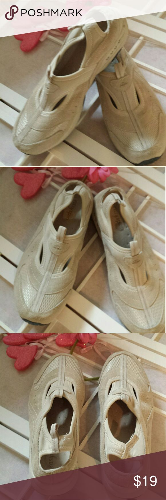 Women's Slip on Sling Back Easy Spirit  size 9.5 Women's size 9.5 Easy Spirit Slip on Sling back sneakers Used, but in great condition Shoes Athletic Shoes