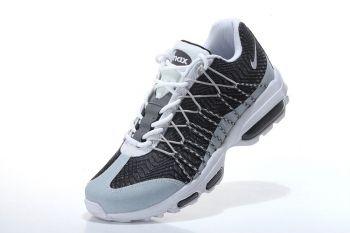 super popular e87ba cb162 Nike Air Max 95 Hyp PRM 20 Anniversary ULTRA JACQUARD Wolf Grey White Dark  Grey