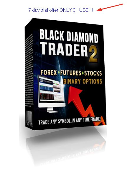 "The NEW ""Black Diamond Trader 2"" is being called the Ultimate Trading System for ‪#‎Forex‬, Futures, Stocks, Binary Options and more! #best#binary#options#trading 7 day trial offer ONLY $ 1 USD !!!"