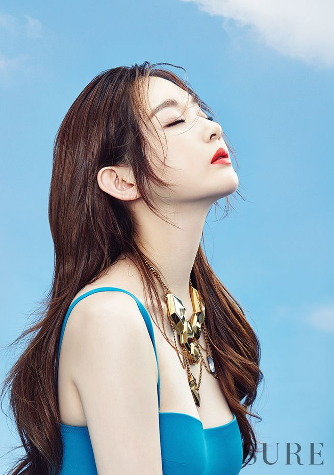 Davichi Kang Min Kyung - Sure Magazine June Issue '16