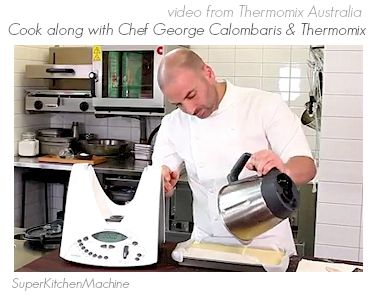 cook along with George Calombaris: classic Greek Thermomix dessert Galaktoboureko