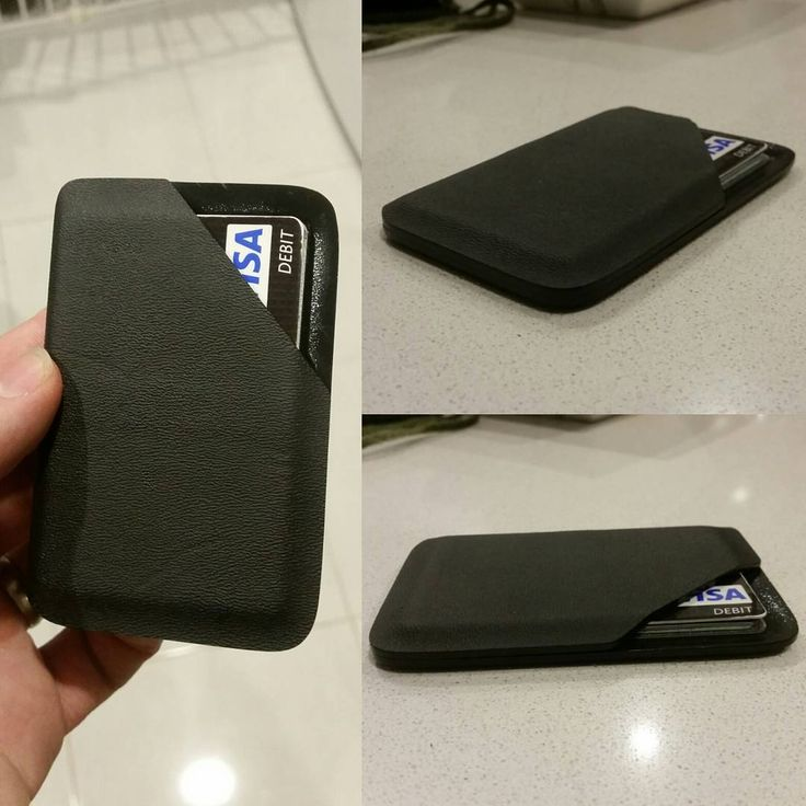 """""""My wallet died today, so thought I would try my hand at the Kydex Tactical wallet."""""""