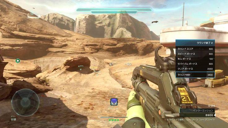 [WZFF-69] XboxOne Halo5 WARZONE FIREFIGHT  野良協力 ウォーゾーンファイアファイト  ESCAPE F...