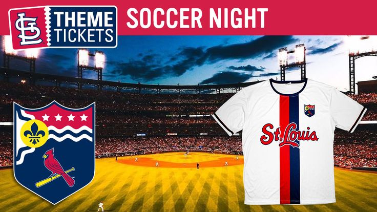 Calling all soccer fans! Ever wonder what the Cardinals jersey would look like if it was converted it into a soccer jersey? Join us for Soccer Night presented by Barrister's Restaurant on Monday, July 24th. With the purchase of a special Theme Ticket, you will receive a unique St. Louis Cardinals soccer jersey. Grab your soccer team and head down to the ballpark to cheer on the Cards!