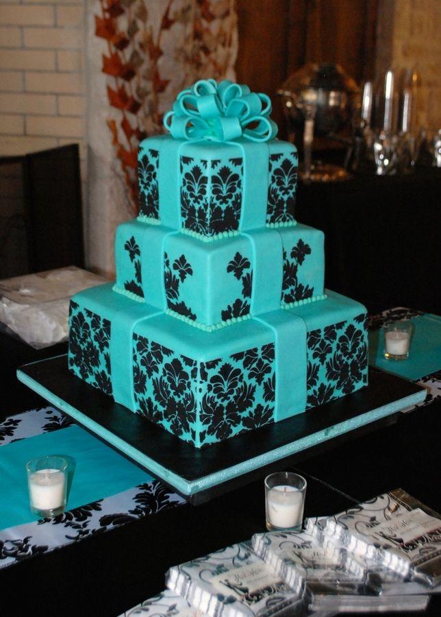 TIFFANY BLUE WEDDING CAKES   Photoset 1,990 of 13,173