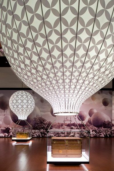 Louis Vuitton Voyages Exhibition, National Museum of China, Beijing