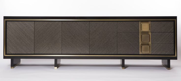 Storage. Sideboard by Brendan Wong Design.