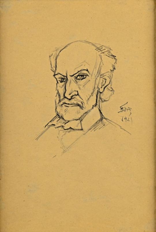 Theodor Pallady (1871-1956) – AUTOPORTRET