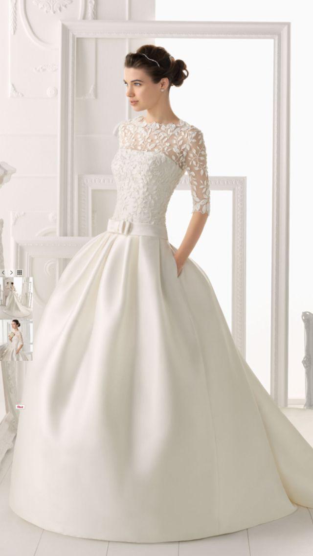 122 best Wedding dress images on Pinterest | Wedding dressses ...