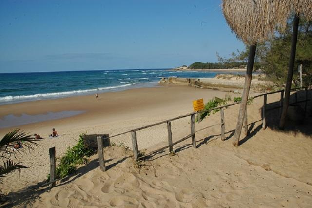 Tofo in Mozambique is a wonderful 8Km long beach!  And we can't wait!
