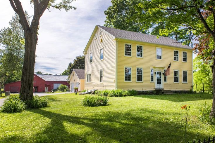 Nestled on 11 acres down a quiet, tree lined country lane