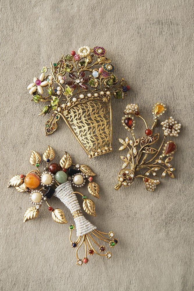 Vintage ‹ Ornella Bijoux brooches