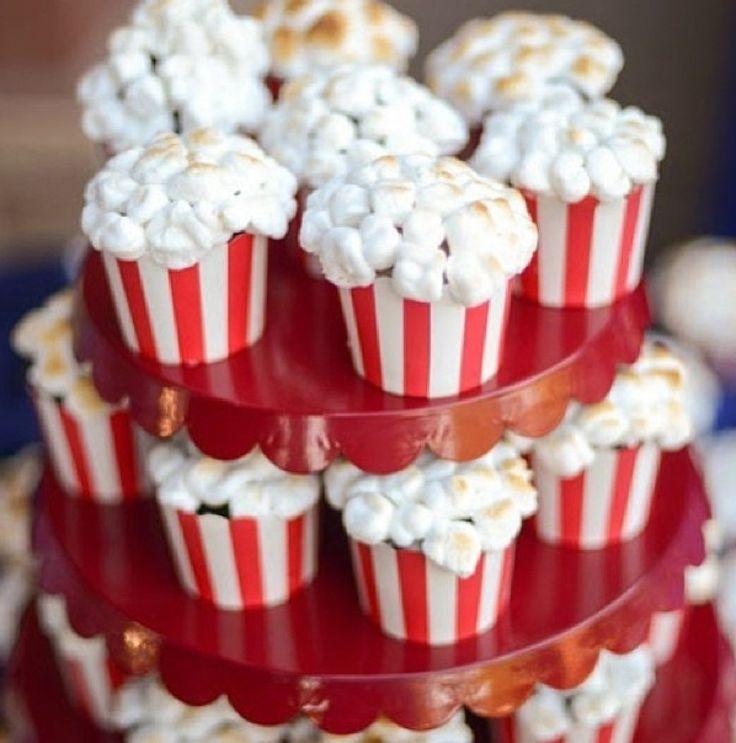 Pop Corn Cupcakes