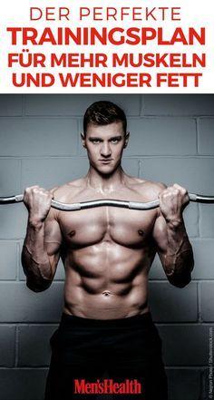 Der perfekte 8-Wochenplan zum Muskelaufbau – Josef