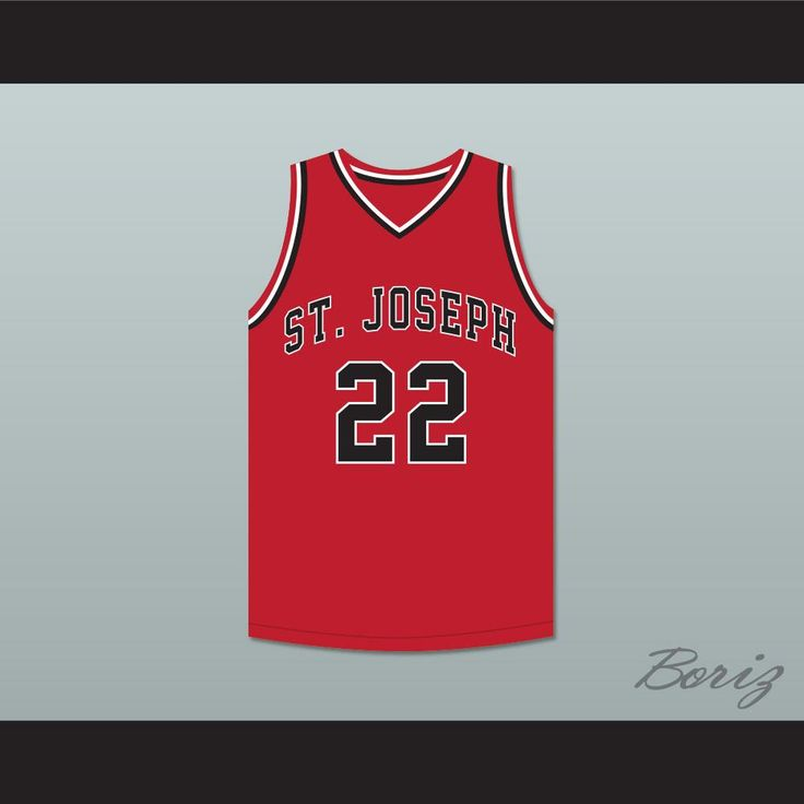 "William Gates 22 St Joseph Chargers High School Red Basketball Jersey Hoop Dreams. STITCH SEWN GRAPHICS  CUSTOM BACK NAME CUSTOM BACK NUMBER ALL SIZES AVAILABLE SHIPPING TIME 3-5 WEEKS WITH ONLINE TRACKING NUMBER Be sure to compare your measurements with a jersey that already fits you. Please consider ordering a larger size, if you prefer a loose fit. HOW TO CALCULATE CHEST SIZE: Width of your Chest plus Width of your Back plus 4 to 6 inches to account for space for a loose fit. Example: 18""…"