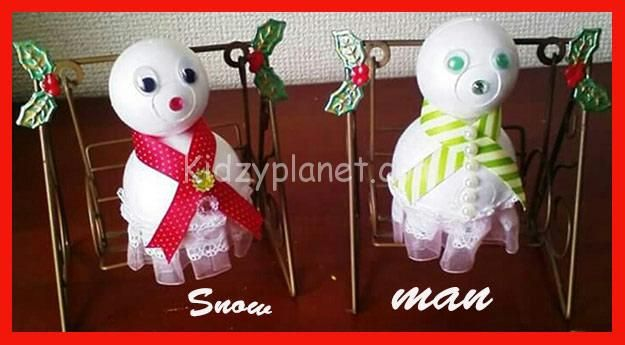 Easy Christmas Crafts for Kindergarten/Preshoolers