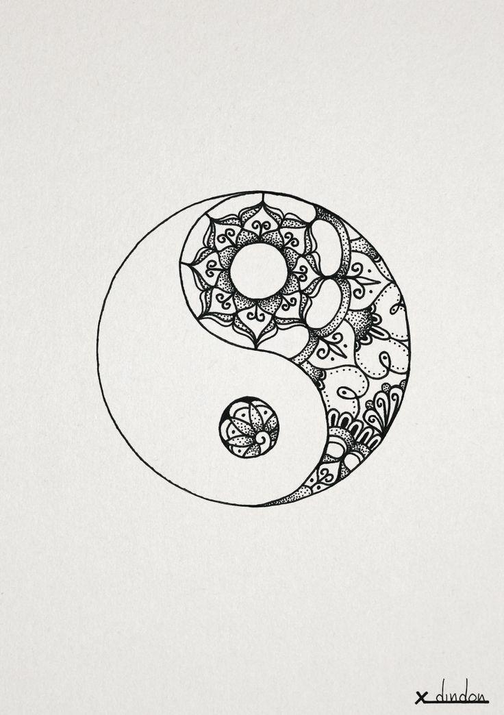 yin yang mandala - Google Search