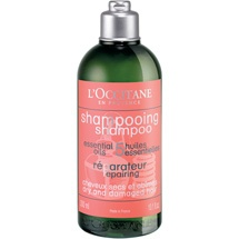 Aromachologie Repairing Shampoo, $20.  Care and give radiance to your hair, leaving it restored, shiny and silky.
