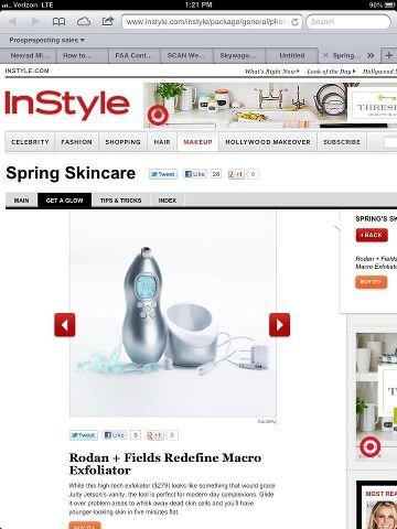 InStyle loves it!
