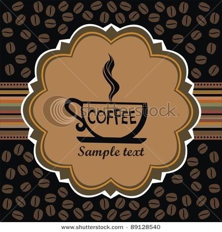 label design. Menu for restaurant, cafe, bar, coffeehouse. Illustration
