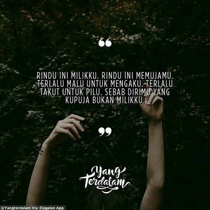 Rindu ini akan terus menunggu hari dimana kau bukan milik siapa-siapa lagi. Kiriman dari @katarinadevi_ #berbagirasa #yangterdalam #quote #poetry #poet #poem #puisi #sajak