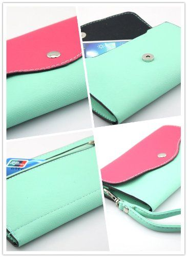 Big Dragonfly Mini Portable Cellphone Bag and Wallet with Shoulder & Hand Strap for iPhone 5 iPhone 4 4s Samsung Galaxy Note 2 S4 S3 HTC Nokia and Other Mobile Phone Mint Colors Vary. Color - E04. Bag for iPhone 5 iPhone 4 4s Samsung Galaxy Note 2 S4 S3 HTC Nokia and Other Mobile Phone. The universal Smart wallet/sleeve is very cool and stylish to carry your iPhone, mobile phone, camera, MP3/4, etc. Colors: Mint/Brown/Black/White. The designed is especially made for all kinds of...