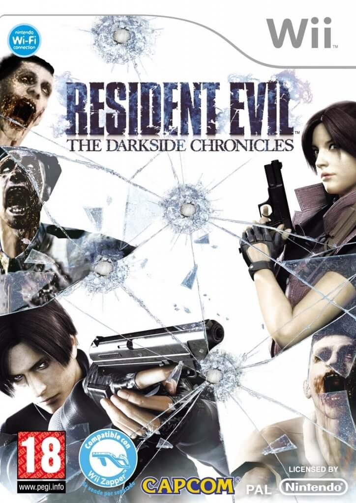 Resident Evil The Darkside Chronicles [NTSC] [Inglés] [Wii