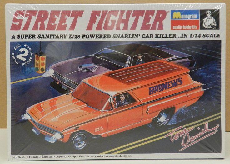 Tom Daniels 60 Chevy Panel Wagon Drag Street Fighter Bad News Monogram Model Kit | eBay