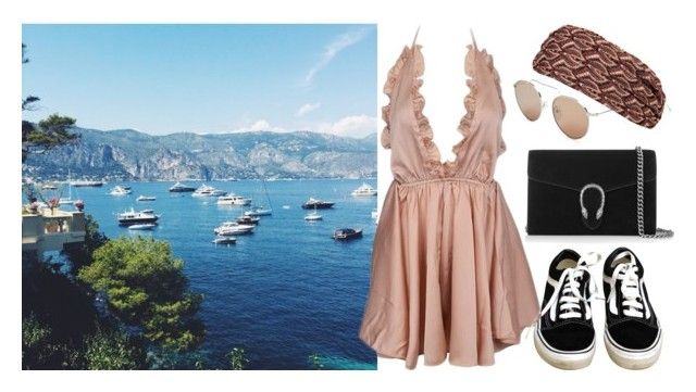A summer in Greece by fashiondisguise on Polyvore featuring Vans, Gucci, Missoni and Illesteva