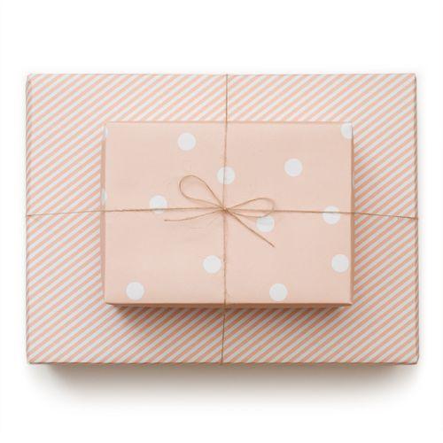 sugar paper wrap