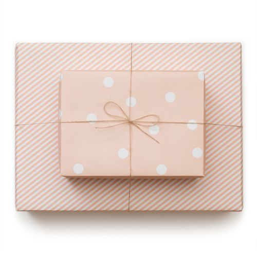 sugar paper wrapPolka Dots, Sugarpaper, Wrapping Papers, Sugar Paper, Pale Pink, Gift Wraps, Los Angeles, Handmade Gift, Wraps Paper
