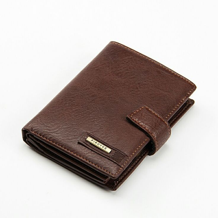 New Brand Men't leather wallet with passport slots coin purse for man card holder male money bag #Affiliate