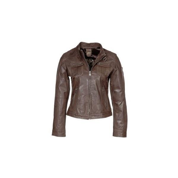 Leather Jacket ($215) Via Polyvore   POLYVORE   Pinterest