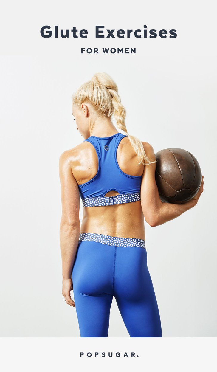 10 No-Equipment Moves For a Tighter, Toner Butt | Move It! Workout