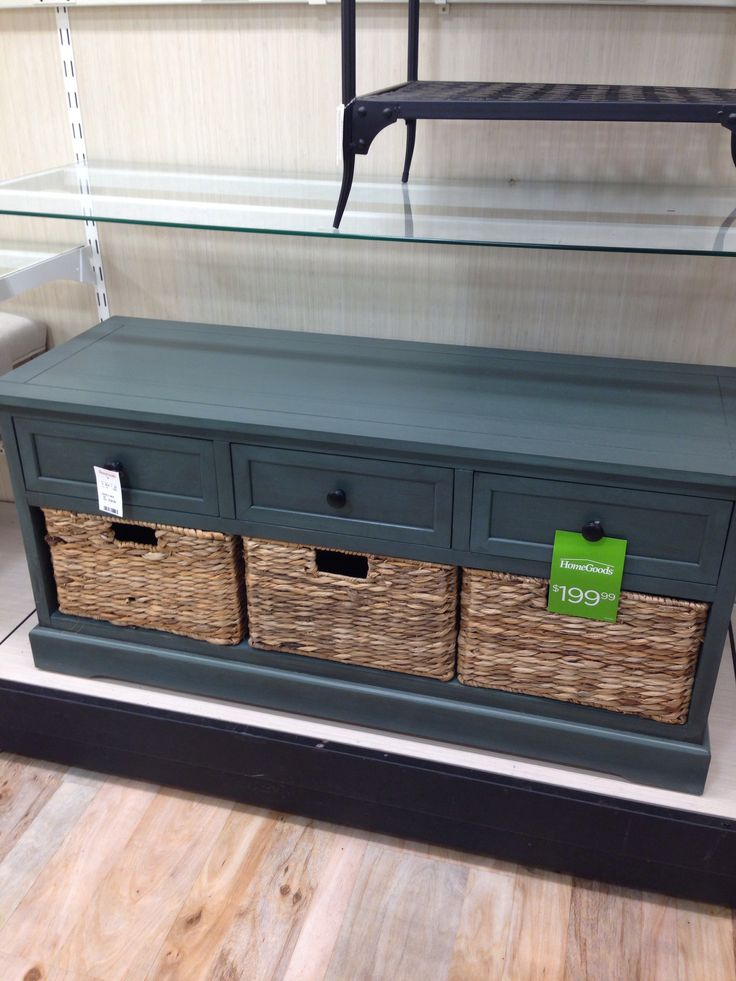 From HomeGoods · Bench With Storage