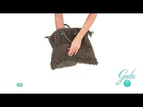 G3DELUXE– De tassen van het Italiaanse merk Gabs zijn multifunctioneel. Bekijk hoe je van 1 tas, verschillende modellen kunt maken. #multifunctioneel #gabs #handbag #bag #video