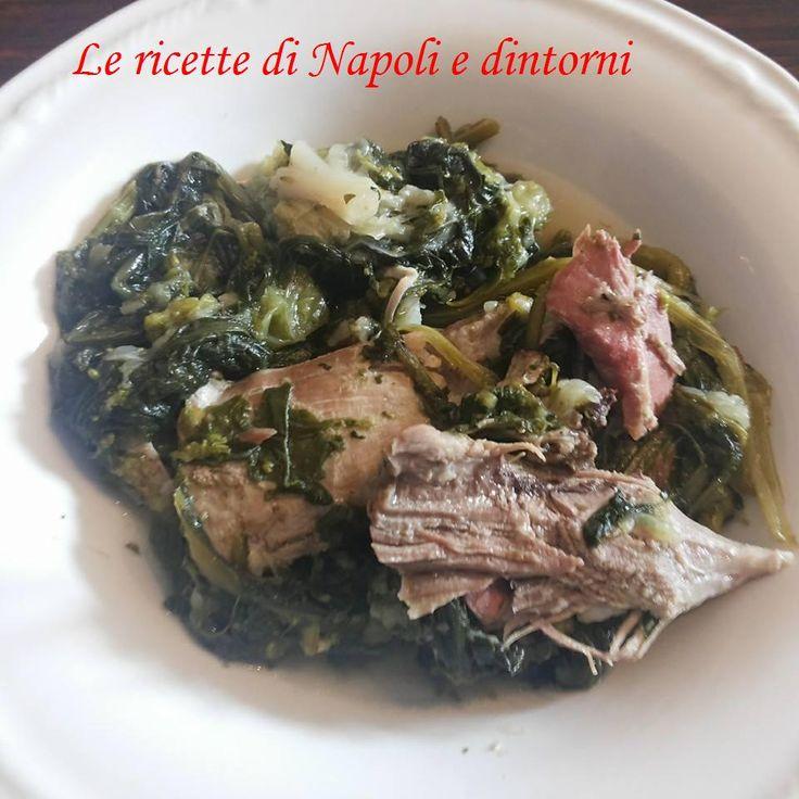 'A menestra maritata #minestramaritata http://blog.giallozafferano.it/lericettedinapoli1/a-menestra-maritata/